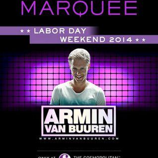 Armin van Buuren - Live @ Marquee (Las Vegas, USA) - 31.08.2014