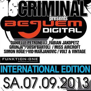 Grunjah - Live Set in Rheingold, Duesseldorf - 07.09.2013 (rebuilt)