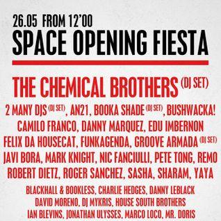 Sasha - Live at Space Opening Fiesta, Space Ibiza (26-05-2013)