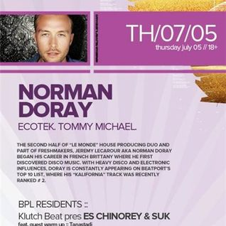 Norman Doray - Live @ Beta Nightclub (Denver, Colorado) - 05.07.2012