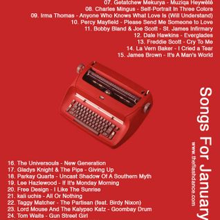 Songs for January 2015