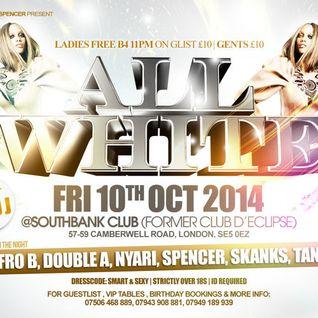 SouthBank Fridays All White Party ( MIX CD ) Mixed by Dj Nyari , Dj Corey & Dj Spencer