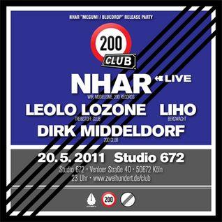 Nhar Live @ 200 Club, May 20, 2011, Studio 672, Cologne