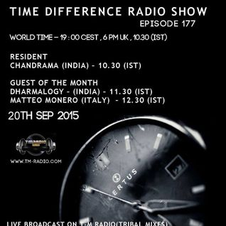 Chandrama @ Time Difference, Episode 177 On T-M Radio - 20th Sep 2015