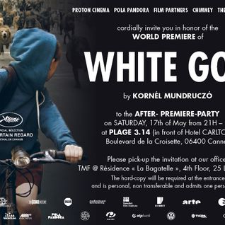 White God After Premiere Party @ PLAGE 3.I4, Cannes