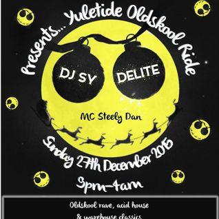 Dj Delite Live @ Vodka'n'Vinyl 27.12.15