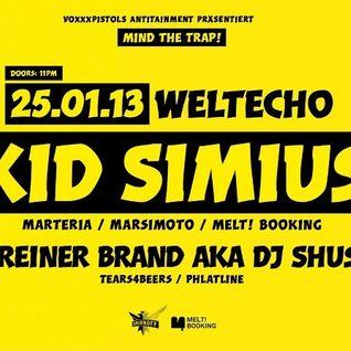 DJ Shusta aka Reiner Brand - Mind The Trap! Warm Up Mix