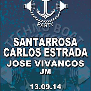 Santarrosa @ Techno Boat 13/09/2014 (Techno Set)