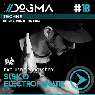 Sisko Electrofanatik – Techno Live Set // Dogma Techno Podcast [May 2014]