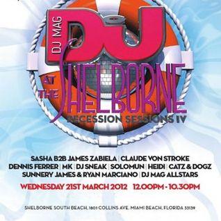 Sasha b2b Zabiela - DJ Mag Recession Sessions IV, WMC 2012 (Miami, USA) - 21.03.2012