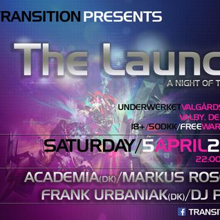 Markus Rose - Live @ The Launch (05.04.2014)