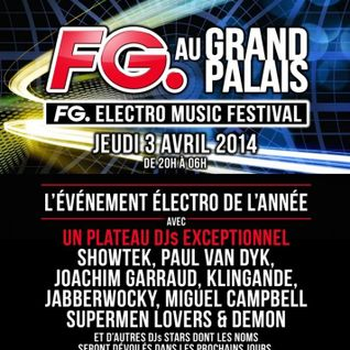 Joachim Garraud - Live @ Grand Palais Paris - 04.04.2014