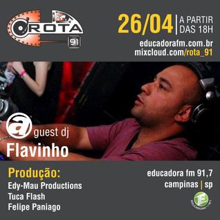 Rota 91 - 26/04/14 - Educadora FM 91,7