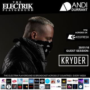 Electrik Playground 6/2/16 inc. Kryder Guest Session
