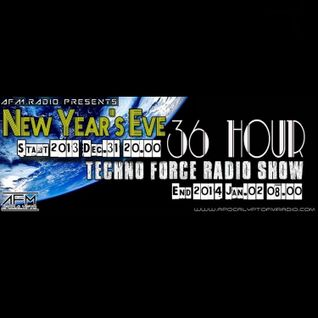 Robbie Jay - NewYear'sEve 36 Hours TechnoForce Podcast [22] on ApocalyptoFM (Hungary)