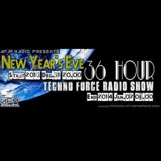 Robbie Jay - NewYear'sEve 36 Hours TechnoForce Podcast [22] on ApocalyptoFM (Hungary)