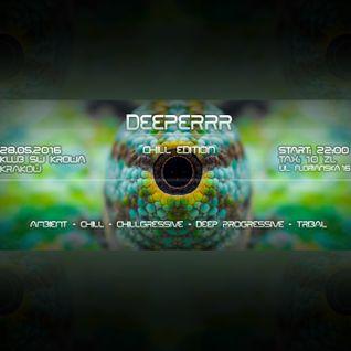 CJ Art & Abyss B2B set @ Deeperrr Chilled Edition (Święta Krowa - Kraków) [28.05.2016]