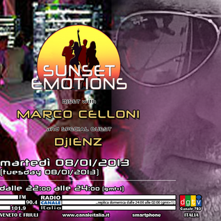 SUNSET EMOTIONS 017.4 (08/01/2013) - Special Guest Dj IENZ