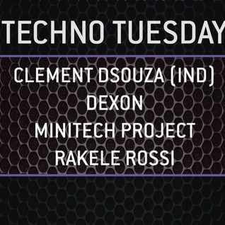 Clement Dsouza Live at What is on your mind -Techno Tuesday - 01.09.2015 at Sugarfactory