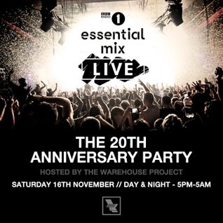 Sasha - Live at Essential Mix 20 Years, Warehouse Project, Manchester (16-11-2013)