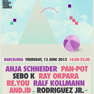 Ray Okpara @ Sonar Festival 2013 - Mobilee Pool Session 13-06-2013