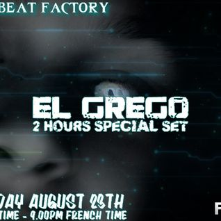El Grego 2 hours techno and dark techno set