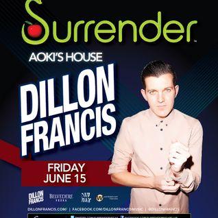 Dillon Francis - Live @ Surrender NightClub (Las Vegas, USA) - 15.06.2012