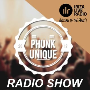 PhunkUnique - Ooooh, it's balearic #001 - Radioshow on Ibizaliveradio.com - December 2015
