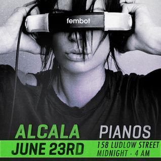 Live @ Pianos NYC (6/23/12)