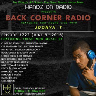 BACK CORNER RADIO: Episode #222 (June 9th 2016)