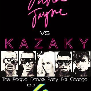 Dj GR - Erika jayne Vs Kazaky - The People Dance Party For Change