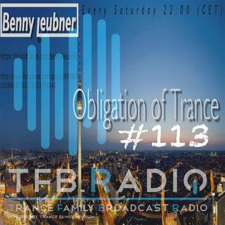 Podcast - Obligation of Trance #113