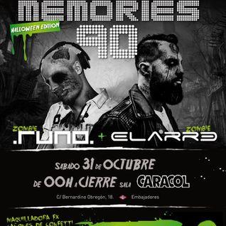 Dance Memories 90 v.8 - Halloween Edition @ Sala Caracol (31.10.2015) Parte 1 de 2