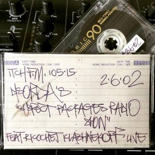 Suspect Packages Radio Show ft. Ricochet Klashnekoff live (Itch FM June 2002)