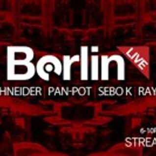 Sebo K - Live @ Mobilee Records Studio Sessions - 04.12.2012