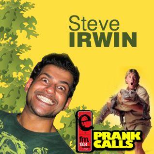 Steve Irwin - E FM Prank Call