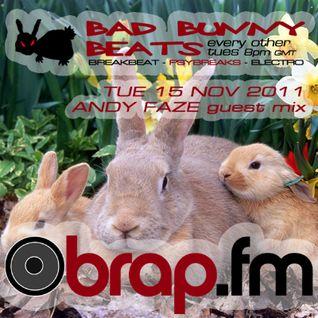Bad Bunny Beats Guest Mix - Nov 2011 - Brap.fm