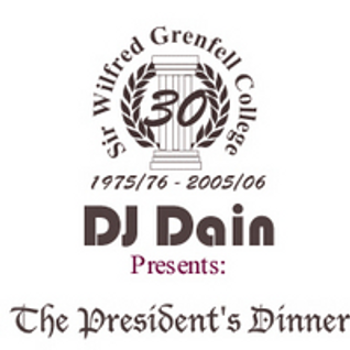 DJ Dain Presents: The President's Dinner