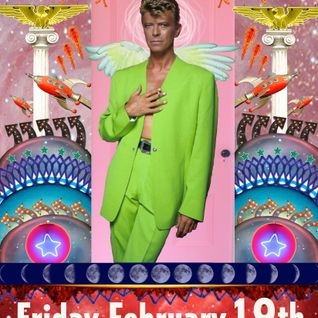 80s Casa Night on the week David Bowie died