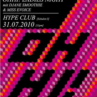 Smoothie - Live @ OHHI Ladies Night at Hype Club Stuttgart (31.07.2010) Pt._1