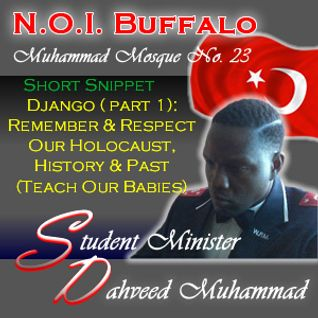 Django: Remember & Respect Our Holocaust, History & Past (Teach Our Babies)