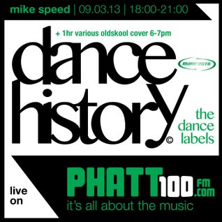 Mike Speed | Phatt100Fm | Dance History The Labels - Manifesto 90's +1hr | 230213 | www.phatt100.com
