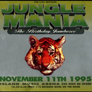 DJ Hype w/ MC Rhyme tyme & MC MC - Jungle Mania 'Birthday Jamboree - 11.11.95