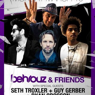Behrouz, Guy Gerber & Seth Troxler - Wall lounge, WMC 2012 (Miami, USA) Part1 - 19.03.2012