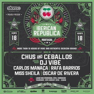 Carlos Manaca LIVE @ Iberican Republica   Pacha   Ofir, Portugal
