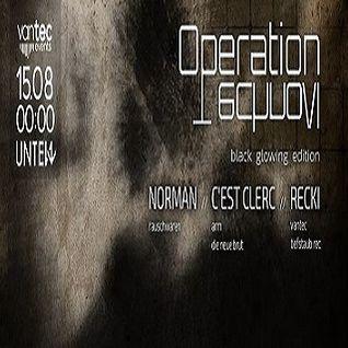 Norman @ Operation Techno VI - Unten Kassel - 15.08.2015