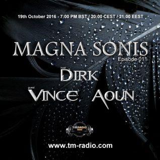 Dirk - Host Mix - MAGNA SONIS 011 (19th October 2016) on TM-Radio