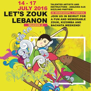Let's Zouk Lebanon 2016 festival