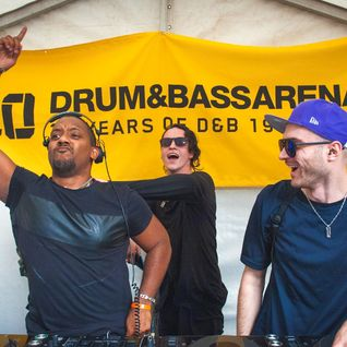 Drum & Bass Arena Summer BBQ - 07 - Ownglow b2b Trimmer b2b Rene LaVice @ MoS - London (03.07.2016)