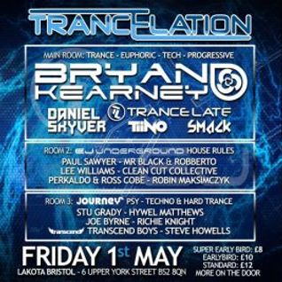 Trancelation - Dickinson & Dursley Live Set - 1/05/2015